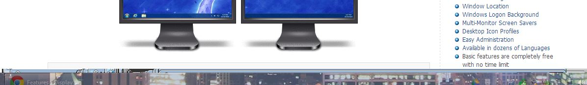 Chrome, maximized window, in split monitor  • Discussions