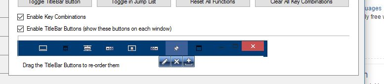 window button not working