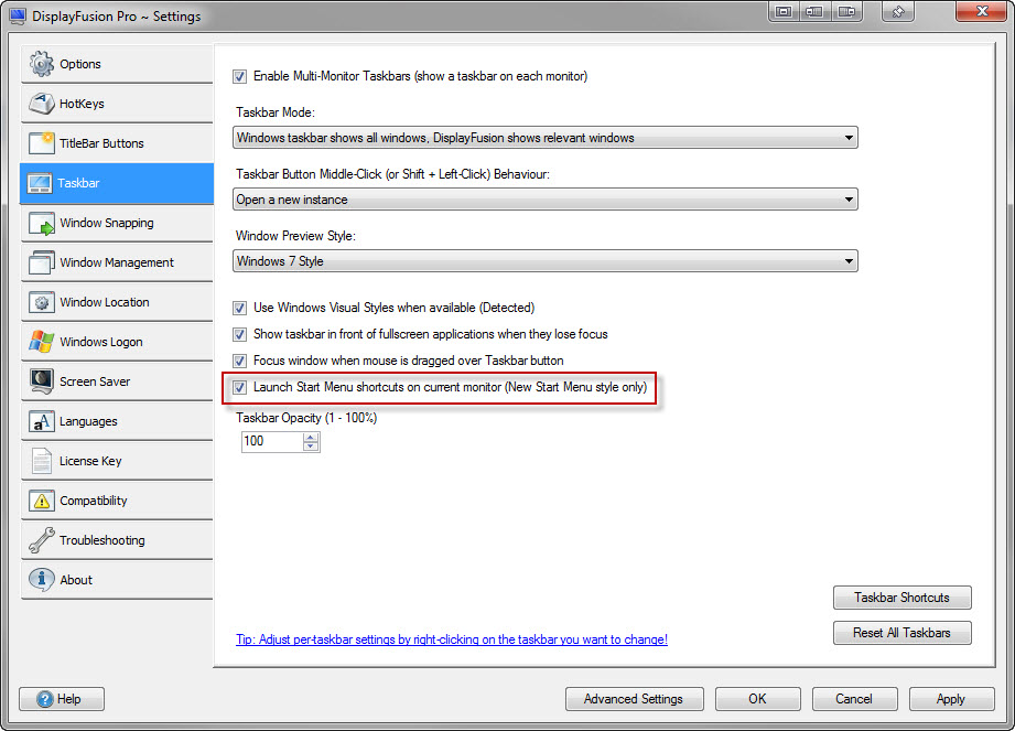 Launch Start Menu shortcuts on current monitor.jpg
