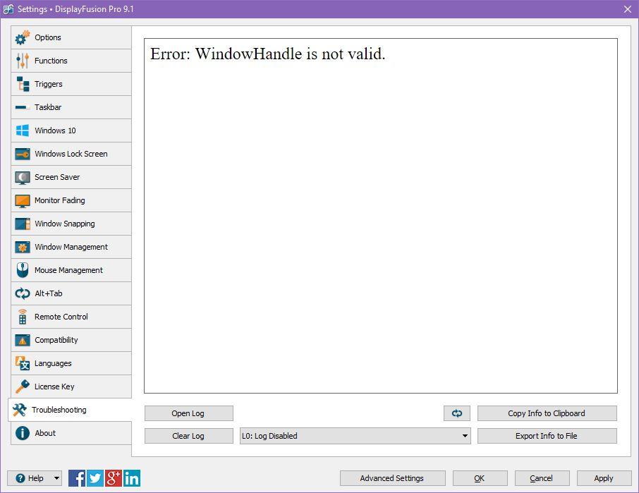 can t right click desktop