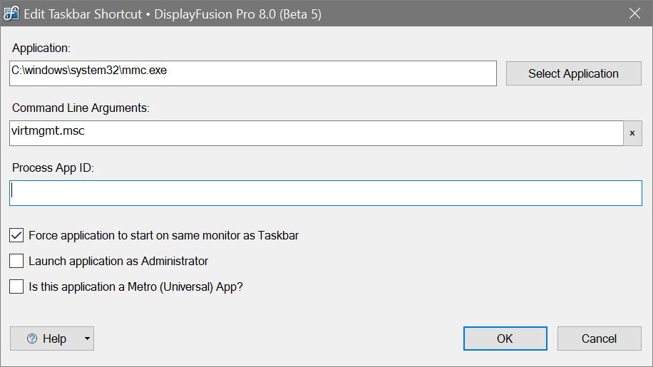 can not pin to taskbar